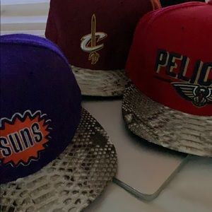 Just Don python hats (Suns, Cavs, Pelicans) bundle